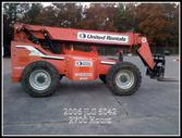 2006 JLG 6042 Telehandler, Work