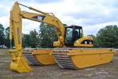 Caterpillar 320CL Amphibious Ma