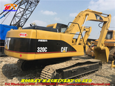 Used Tracked excavator 320C Cat