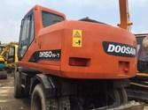 used 2013 wheel excavator doosa