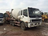 ISUZU CXZ81K concrete mixer tru