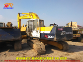 Used PC200-5 tracked