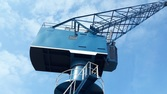 Harbour crane NKM 4 Rope grab