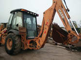 Used CASE 580M backh