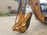 2013 Case 580N 4wd Backhoe W/Cr
