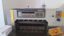 Polar Cutting machines 76 EM