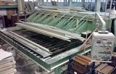 Hot press for wood strips brand