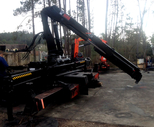 Used 2002 HIAB 166 Loader Crane