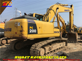 Used PC200-8 tracked