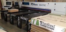 Giben 10' front load panel saw