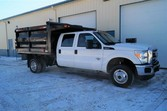2012 Ford F350 XL –  9ft Dump T