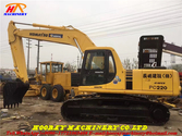 Used PC220-6 tracked
