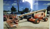 JLG 600A articulated boom lift