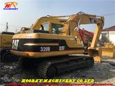320B used tracked excavator Cat