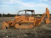 Case 855D track loader w/ 4-1 b