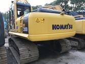 Used KOMATSU PC200-8