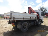 TRUCK TIPPER WITH CRANE FOR SAL