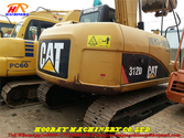 tracked excavator 312D  Made in