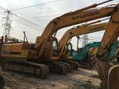 Used Hyundai tracked excavators