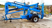 2012 Genie TZ34/20 Towable Boom