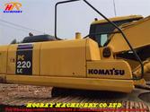 Used Komatsu PC220-7