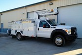 2012 Ford F550 XL – 35ft Bucket
