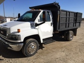 2007 GMC C4500 – 12ft Dump Truc