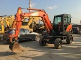 Hitachi DX60W wheel excavator