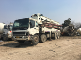 SANY-ISUZU Concrete pump
