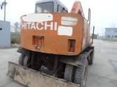 Hitachi wheel excavator EX60WD