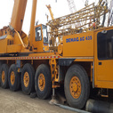 used Demag ac435 truck crane 15