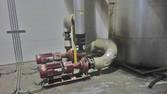 Gas boiler for oil