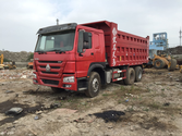 Used 2014year HOWO dump truck w