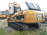 Caterpillar 325DL tracked excav