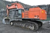 Used 2011 Hitachi ZX670LCR-3 ex