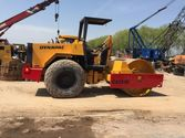 Used Dynapac CA251D roller with