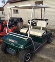 Used EZ Go Golf Cart Green