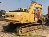 PC200-6 used tracked excavator