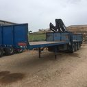 Trailer With 1996 HIAB 140 AW