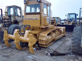 CAT D6D Bulldozer with ripper