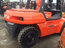 Used 7 Ton Toyota Forklifts for sale  Toyota equipment