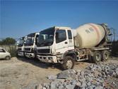 8 Sets Isuzu 8 CBM Mixer Truck