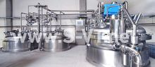 Process Plant Homogenizing Mixe