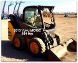 2013 Volvo MC95C Skid Loader (W