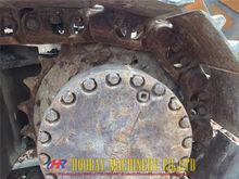 Komatsu PC220-7 excavator, koma