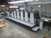 Komori Lithrone L 528 EM Plus C