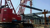 used China crawler crane FUSHUN