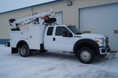 2011 Ford F550 XL – 21ft Crane
