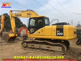 Used PC200-7 tracked