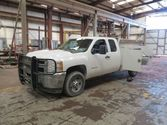 2011 Chevy 25000HD Utility Box,